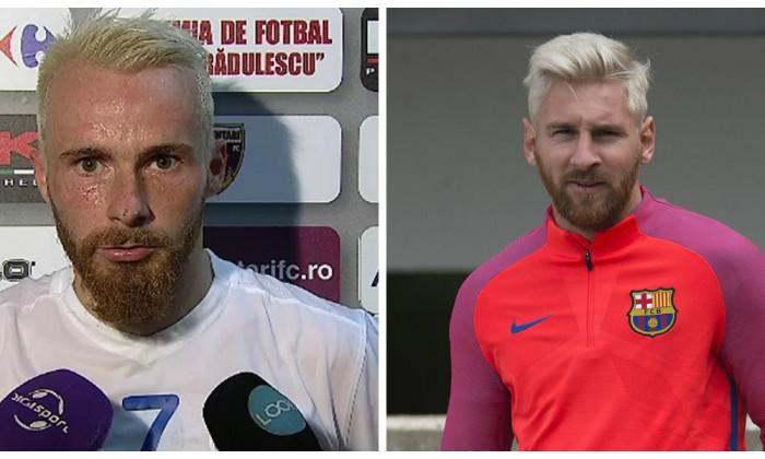 collage messi blond