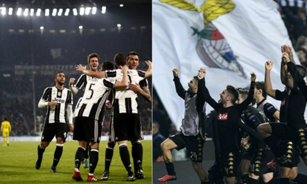 collage juventus napoli