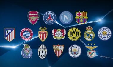 champions league echipe calificate in optimi