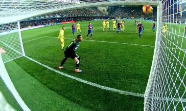 lionel messi gol villarreal - barcelona 1-1