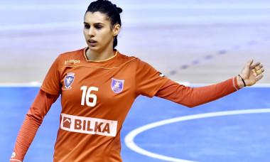 Denisa Dedu, portarul naționalei României de handbal feminin