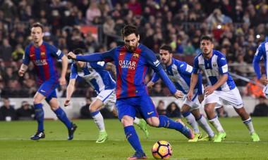 Messi gol penalty