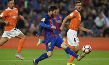 barcelona osasuna gol messi