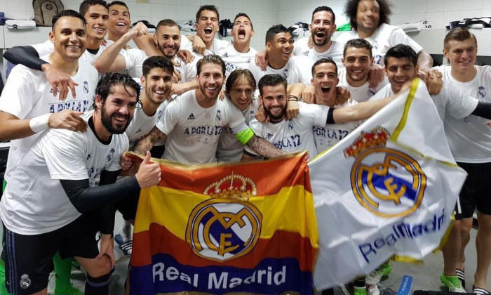 real madrid bucurie