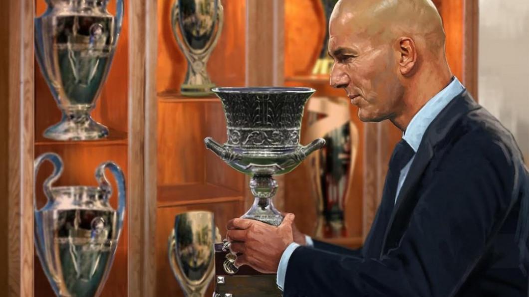 zidane trofee