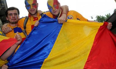Romania fani steag