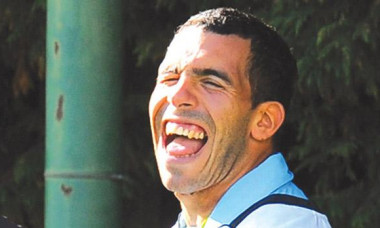 tevez laugh