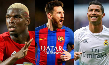 Pogba Messi Ronaldo
