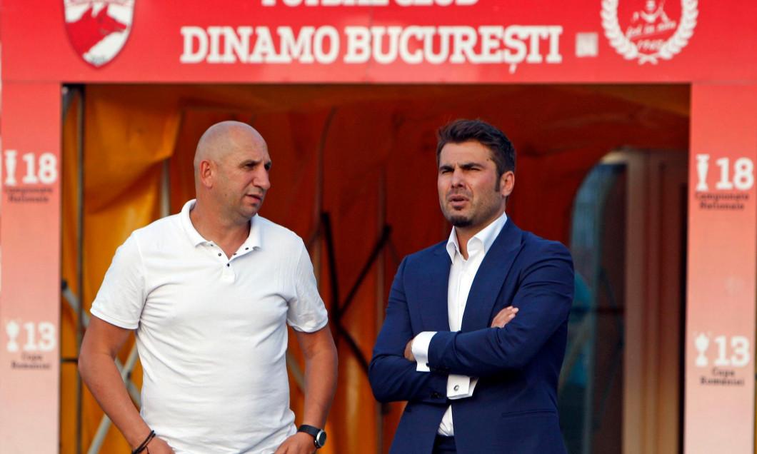Miriuță și Mutu pe vremea cand făceau echipă la Dinamo.