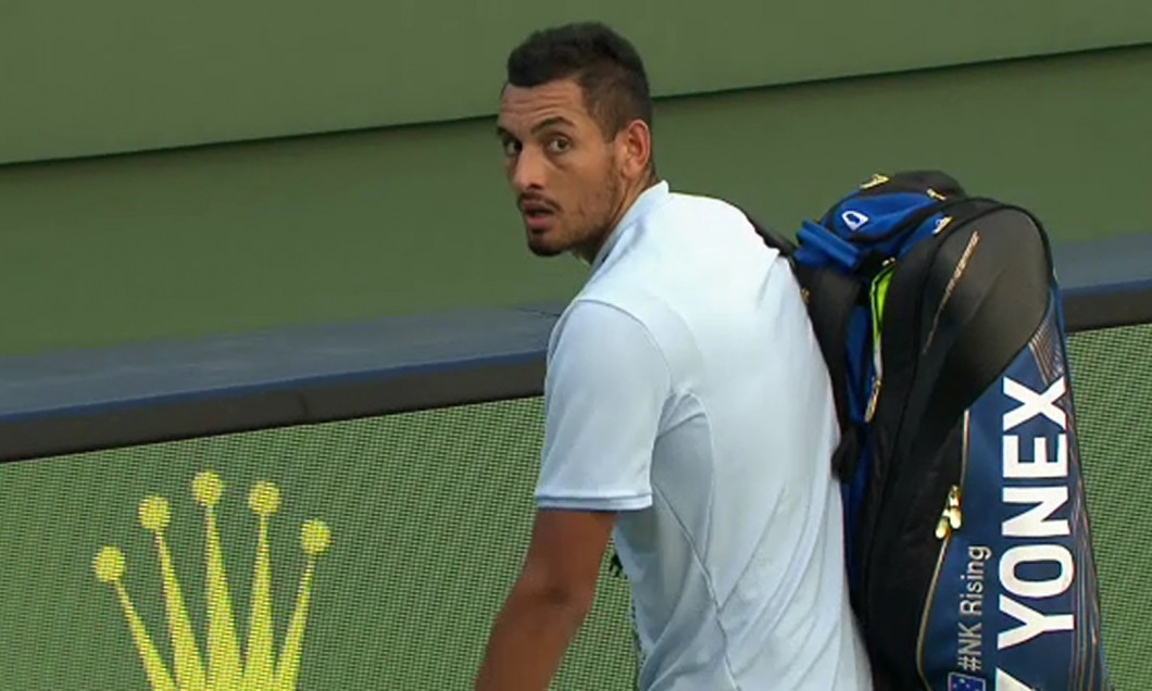 kyrgios out