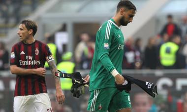 Donnarumma este absenţa de marcă a Milanului la derby-ul cu Juventus