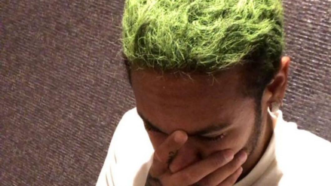 neymar par verde
