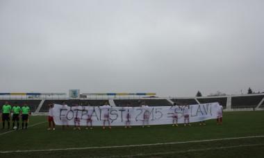banner protest romania