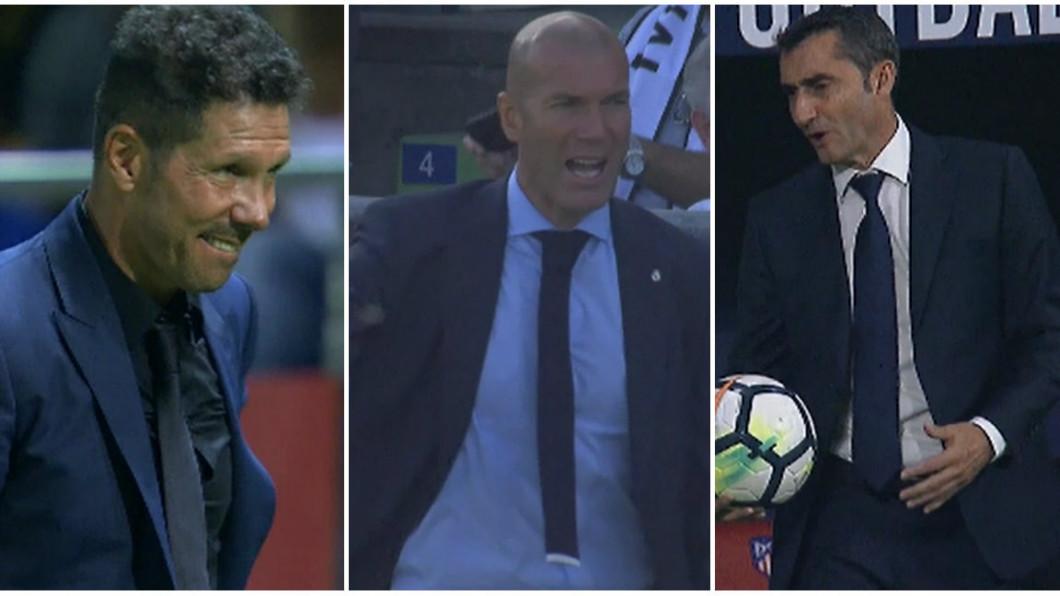 Image result for Simeone, Zidane Valverde
