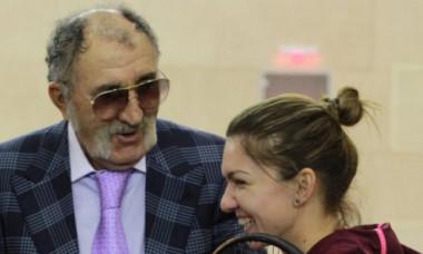 Simona Halep Ion Tiriac