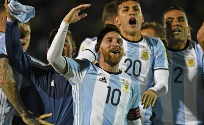 Messi nationala buc