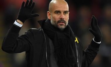 Pep Guardiola, antrenorul lui City
