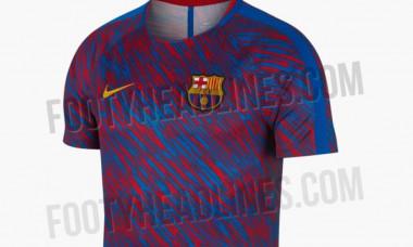tricou incalzire barcelona