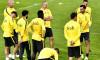 FOTBAL:ANTRENAMENT OFICIAL FC STEAUA BUCURESTI MECI FC LUGANO, LIGA EUROPA (27.09.2017)
