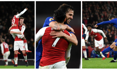 collage Arsenal-Chelsea