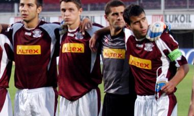 FOTBAL:RAPID BUCURESTI-SLIEMA WANDERERS 5-0,CUPA UEFA(13.07.2006)
