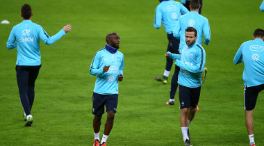 France Training Session & Press Conference