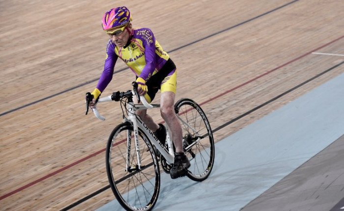 CYCLING-FRA-TRACK-WORLD-RECORD-CENTENARIAN