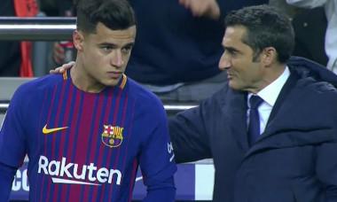 coutinho debut barcelona