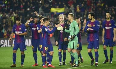 Barcelona a castigat meciul cu Espanyol