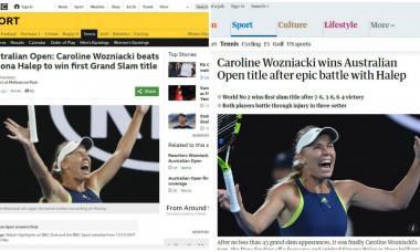 Reacțiile din presa internațională