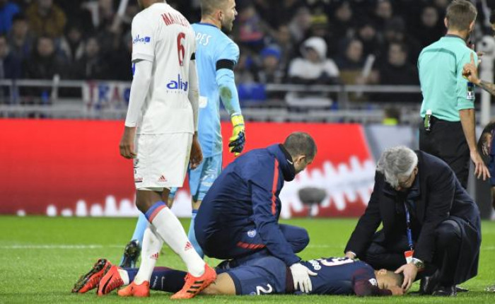 Mbappe accidentat