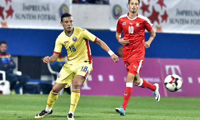 FOTBAL:ROMANIA U 21-ELVETIA U 21, PRELIMINRIILE CE 2019 (5.09.2017)