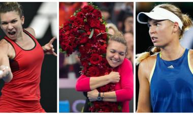 Halep Wozniacki numarul 1