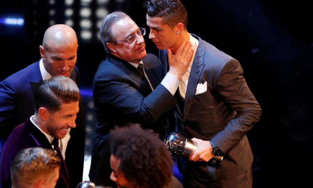 Ronaldo, felicitat de Florentino Perez