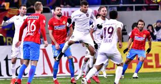 FCSB luptă cu CFR Cluj pentru titlu în Liga 1