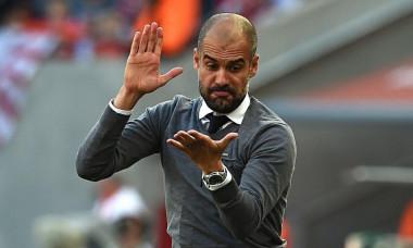 Pep Guardiola, antrenorul lui Manchester City