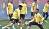 FOTBAL:ANTRENAMENT OFICIAL FC STEAUA BUCURESTI MECI SPORTING PORTUGAL, PLAY OFF LIGA CAMPIONILOR (22.08.2017)
