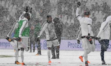 Meciul Juventus-Atalanta a fost amânat din cauza ninsorii