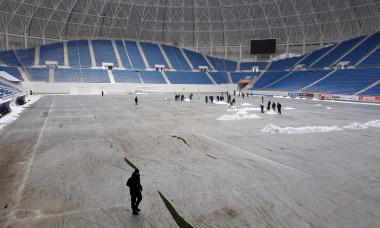Gazonul stadionului din Craiova