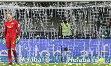 Protest inedit la Eintracht - Leipzig