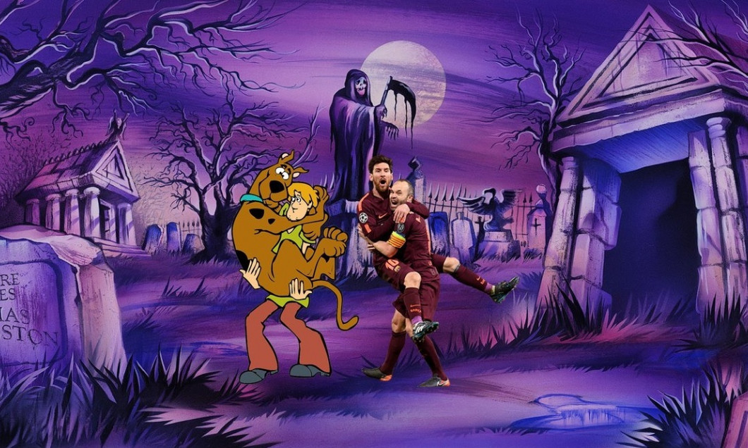 messi iniesta scooby shaggy