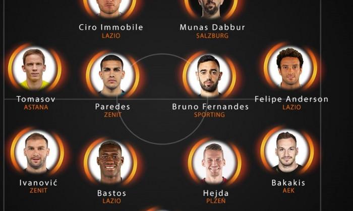 echipa ideala Europa League