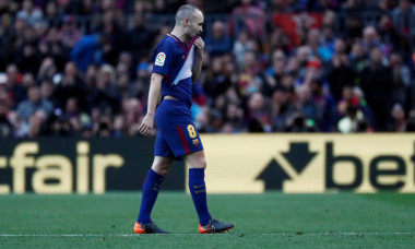 Iniesta accidentare