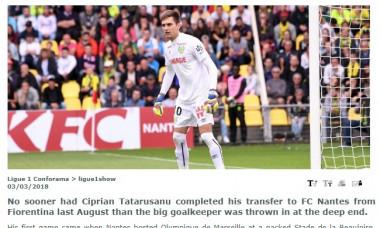 Tatarusanu Ligue 1