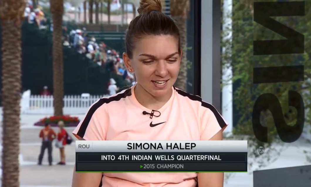 Halep tennis channel