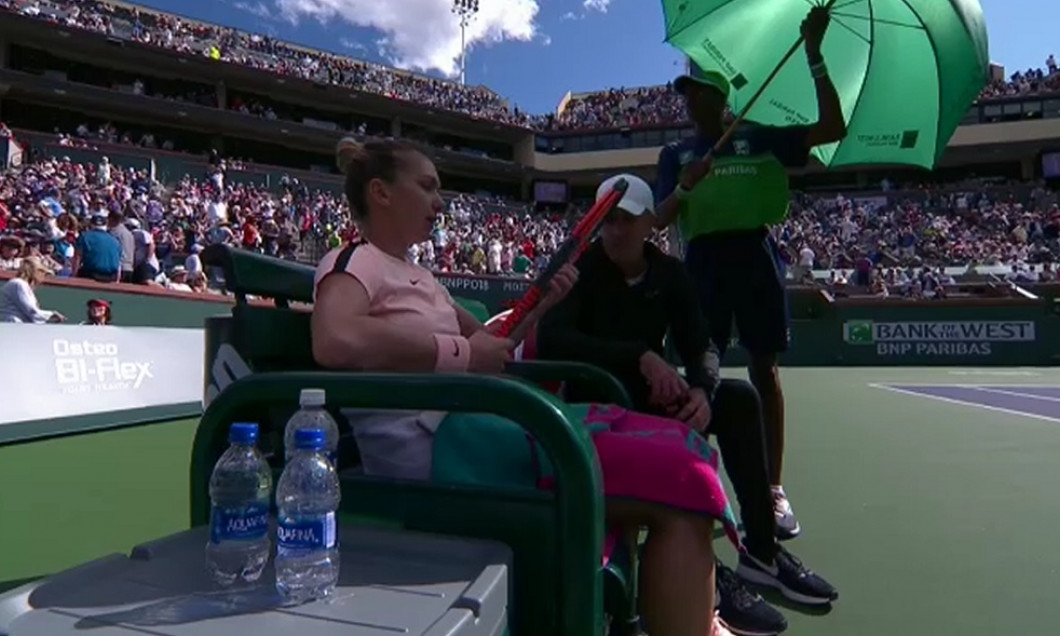halep cahill timeout