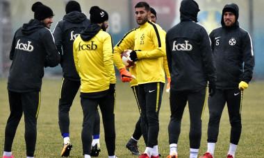 FOTBAL:ANTRENAMENT FC STEAUA BUCURESTI-MECI SS LAZIO, LIGA EUROPA (14.02.2018)