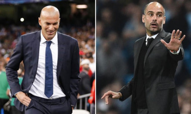 zidane guardiola real manchester city