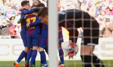 Barcelona bucurie gol