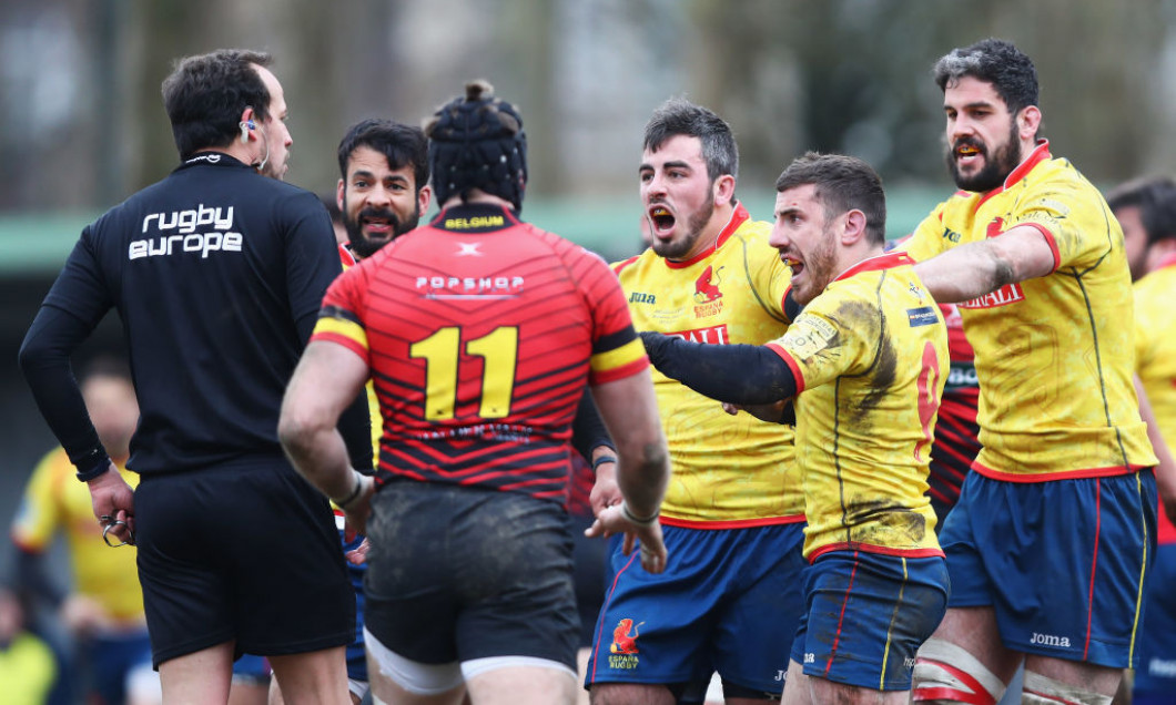 Belgium v Spain - Rugby World Cup 2019 Europe Qualifier